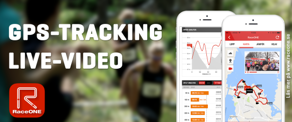 Live tracking, video - trail skog